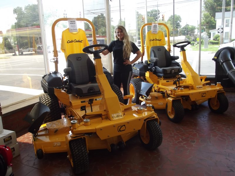 Cub Commercial Mowers